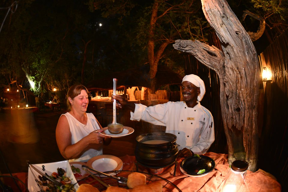 Madikwe River Lodge - excellent service