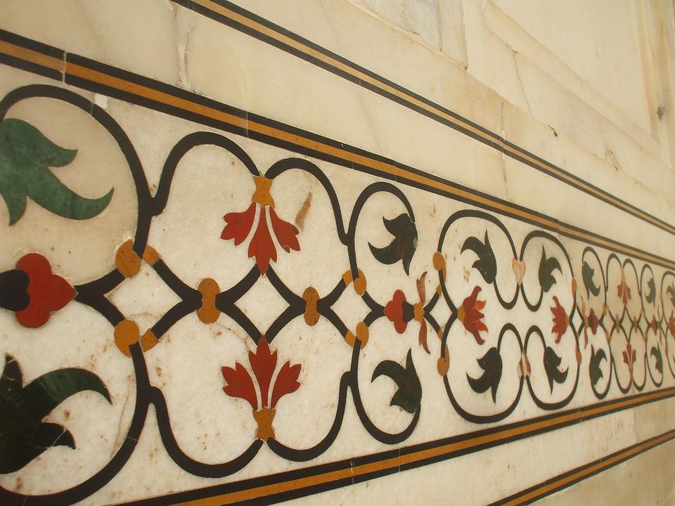 taj-mahal beautiful inlay