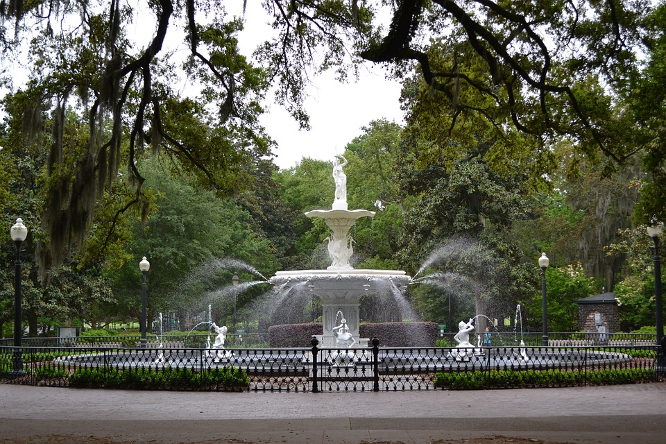 Savannah Forsyth Fountain