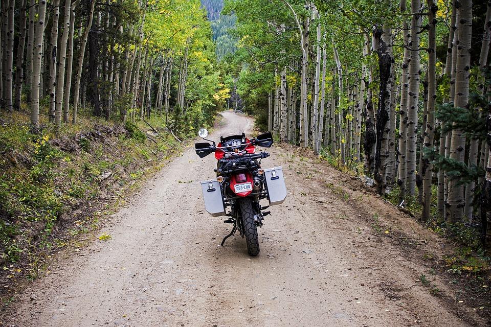 motorbiking trail in Aspen