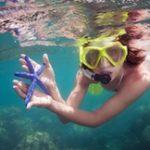 snorkeling in Saona Island