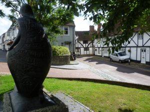 bronze statue of Hope