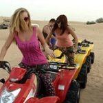 Dubai desert safari - quad biking