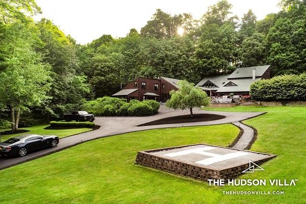 The Hudson Villa lush greenery