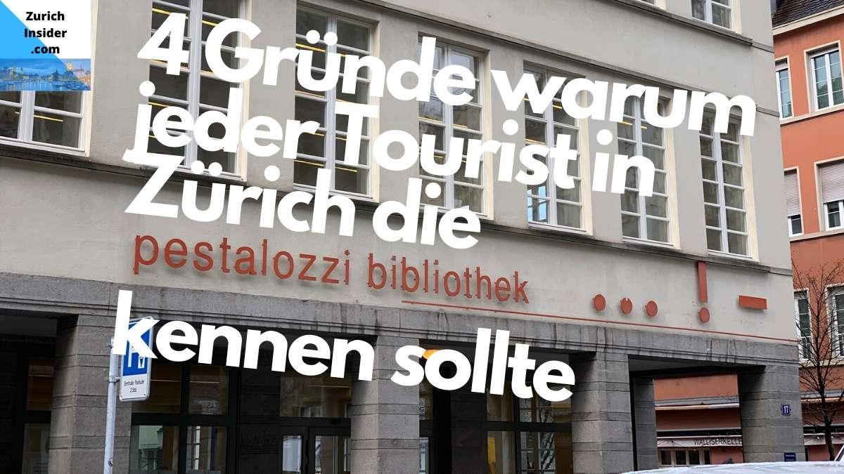 PBZ or Pestalozzi Library Zurich
