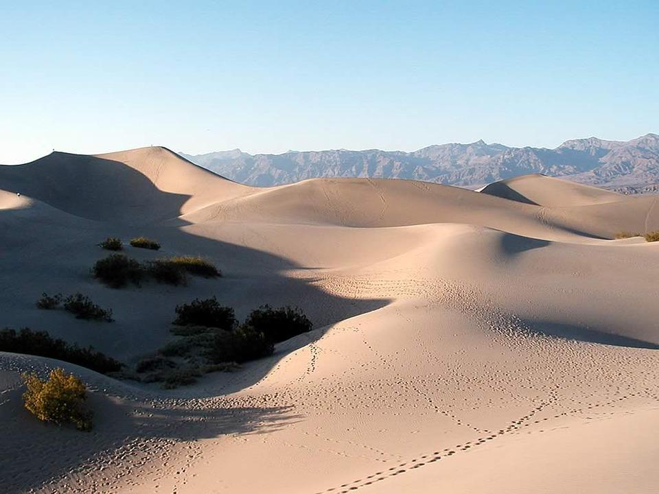 Saline Valley Dunes, Death Valley National Park
