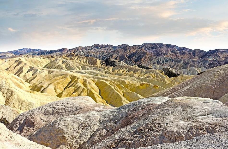 view from Zabriskie Point, Death Valley National Park